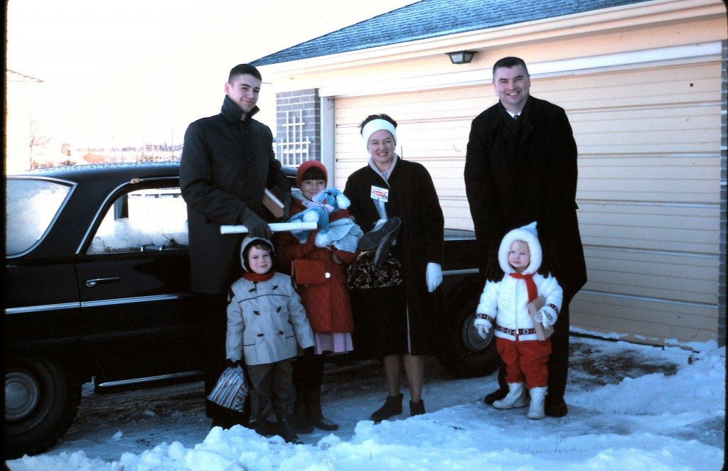 The Kaiser family: parents Larry and Shirlee and their four children.