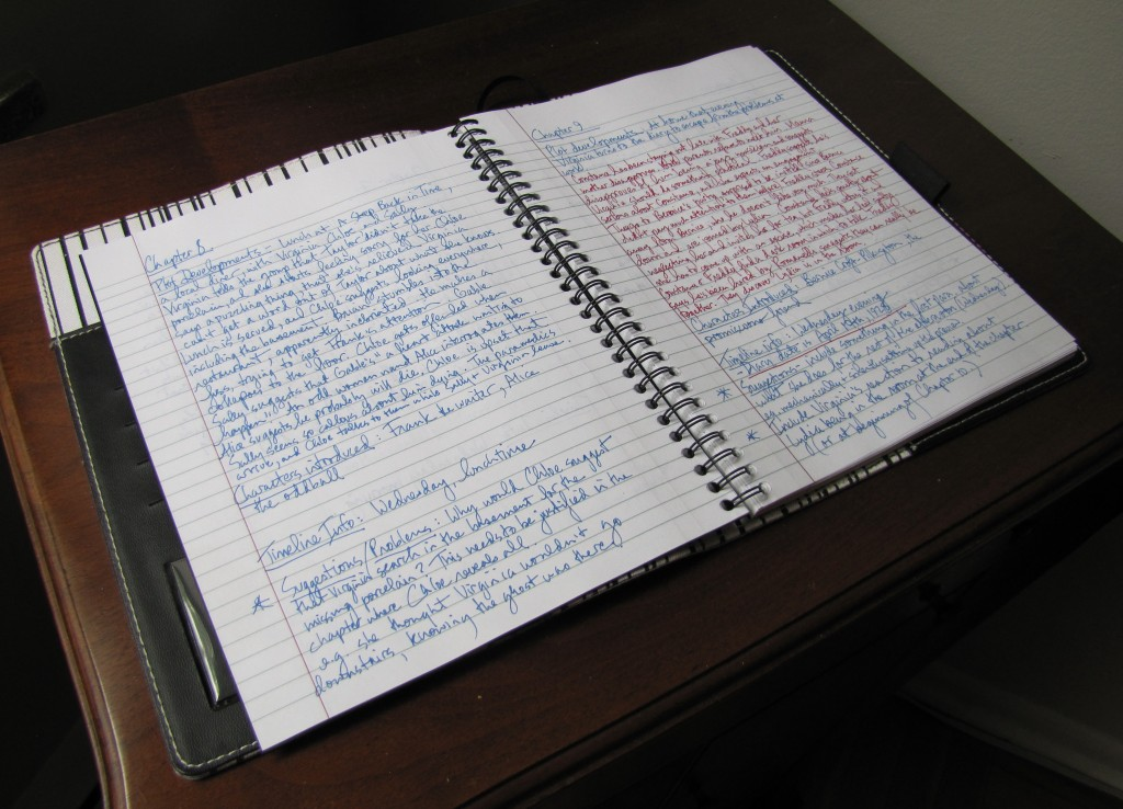 Chapter summaries for Virginia's Ghost