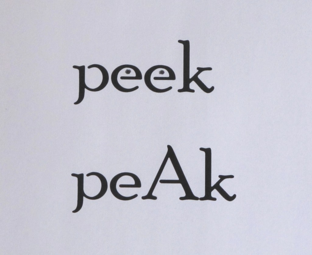Peek vs. peak